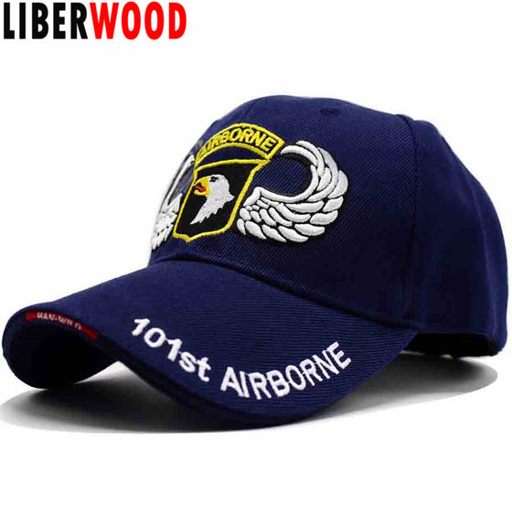 U.S. Army 101st Airborne Division Screaming Eagle Cap