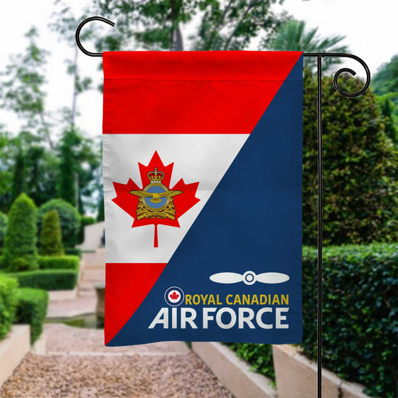 New Royal Canadian Air Force Rank Garden Flag Double-sided Print