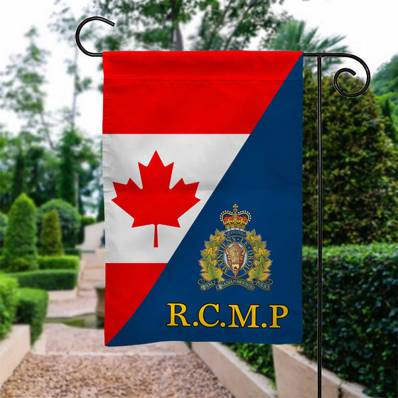 Royal Canadian Mounted Police Garden Flag Double-sided Print