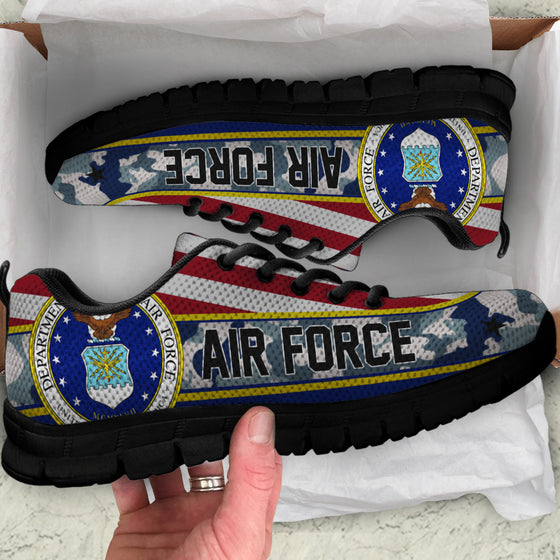 US Air Force Flag Camo Sneakers Running Shoes