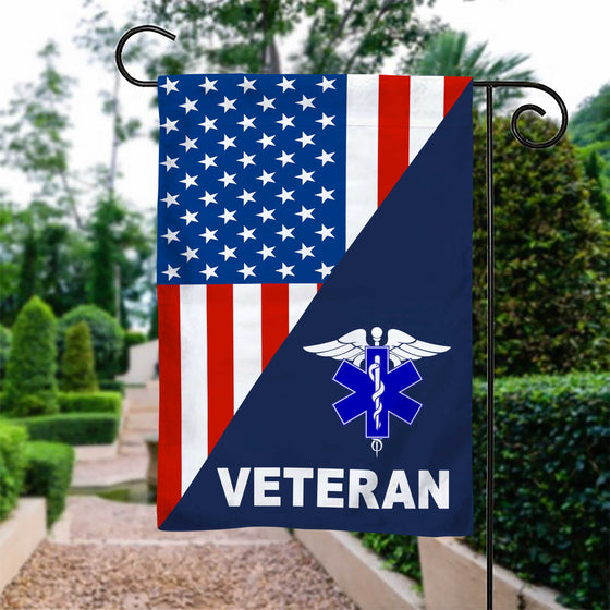 EMT Garden Flag Double-Sided Print