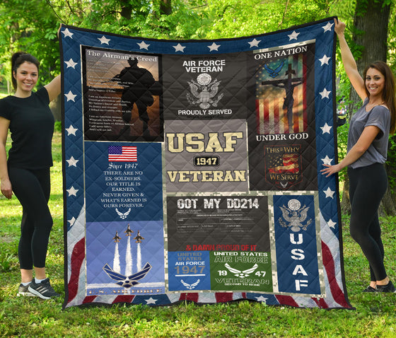 US Air Force Quilt