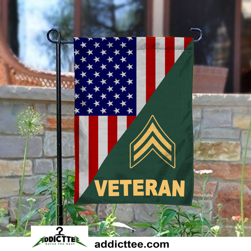 """USA PROUD TO BE AN AMERICAN DOUBLE SIDED GARDEN FLAG 12/""""X18/"""" YARD BANNER"""