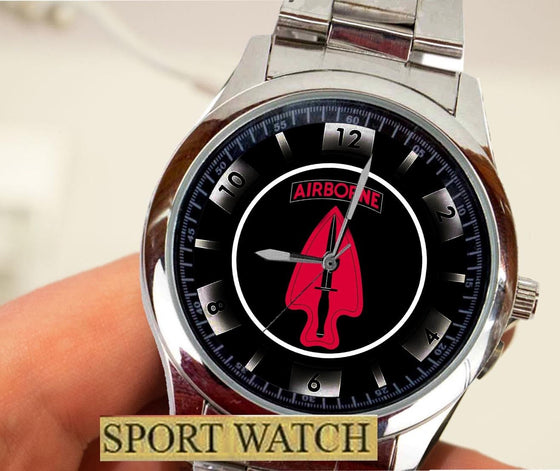 Special Forces Airborne USASOC SFOD-D Logo Watch High Quality