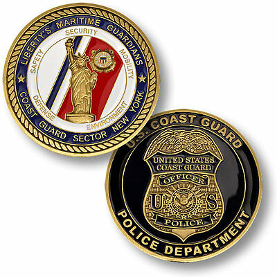 U.S. Coast Guard / Sector New York Police Department - USCG Challenge Coin