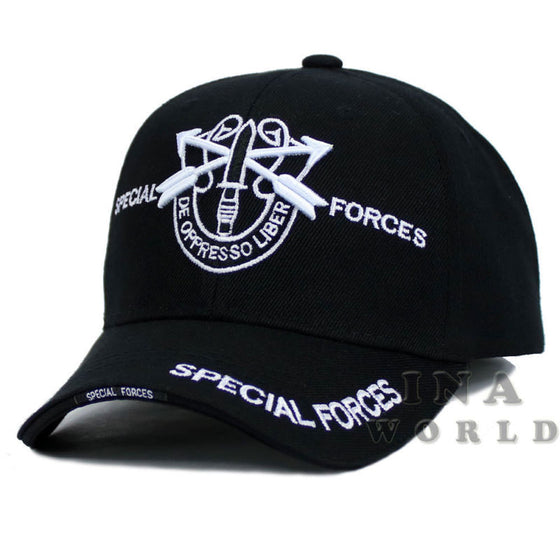 "U.S. ARMY hat SPECIAL FORCES ""De Oppresso Liber"" Official Licensed cap- Black"