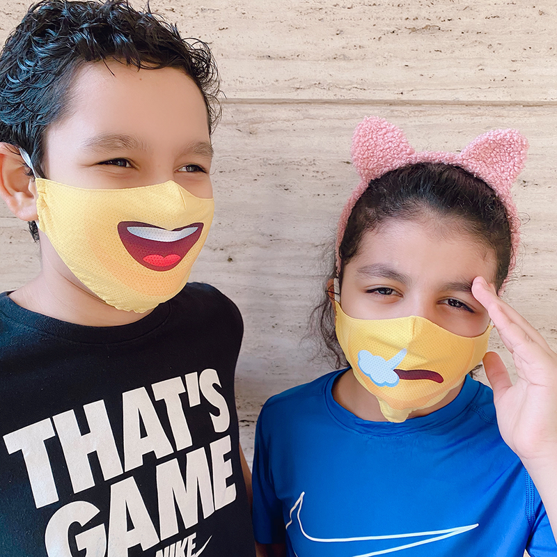 Emoji Masks For Kids