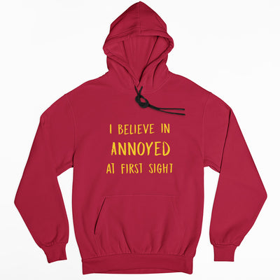 The Annoyed Hoodie