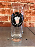 Beehive Beer Glass