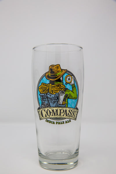 Compass Beer Glass