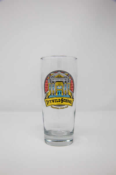 Ivywild School Beer Glass