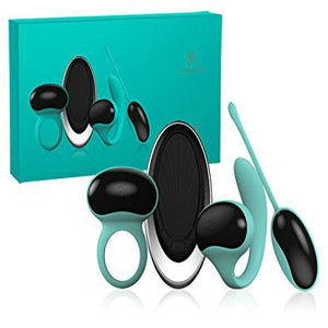 Lamourose Paramour Set Pour Homme-Vibrator Ring-Lamourose-Deep Teal-Always Adult NA
