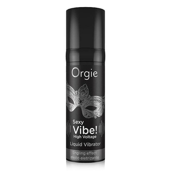 Orgie Liquid Vibrator - High Voltage-Lubricant-Orgie-15ml-Always Adult NA