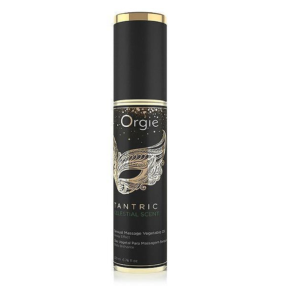 Orgie Tantric Sensual Massage Oil - 200ml-Performance Spray-Orgie-Celestial Scent-Always Adult NA