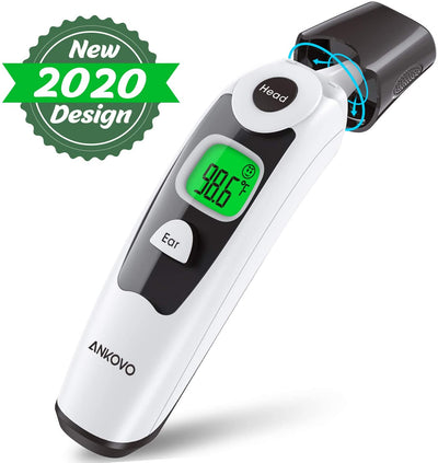 Baby Thermometer- Medical Digital Infrared Forehead and Ear Thermometer for Fever, Clinically Approved Temporal Thermometer (Thermometro Digital) - Suitable for Babies and Adults