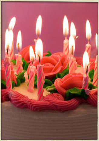 Birthday Cake Soy Candle