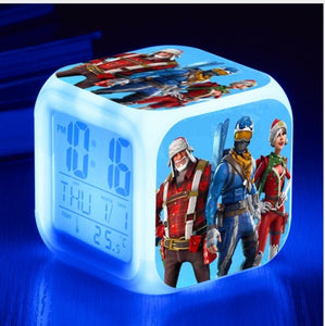 Fortnite Battle Royale LED Alarm Clock