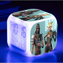 Load image into Gallery viewer, Fortnite Battle Royale LED Alarm Clock