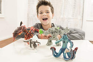 Schleich Eldrador Creatures Monster Octopus w/ Weapon: Schleich: Toys & Games