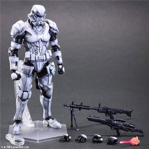 Star Wars Stormtrooper Figure Play Arts Kai Action Figure