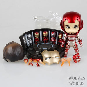Iron Man Mark 42 Tony Stark Set Nendoroid