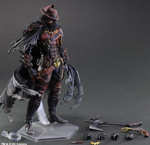 Play Arts Batman West Cowboy Action Figure Kai PVC Action Figure