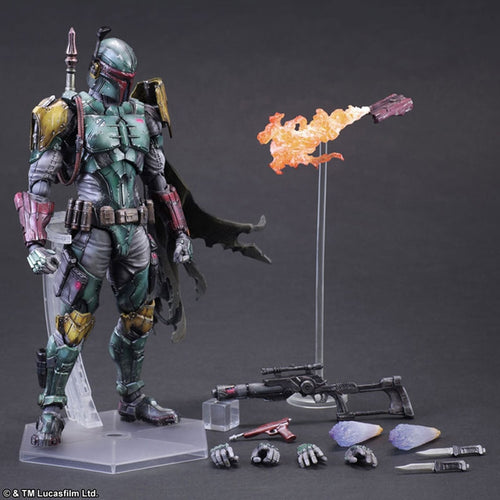 Star War Boba Fett Figure Play Arts Kai Action Figure
