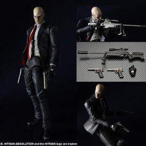 Play Arts Hitman Killer Agent 47 Action Figure