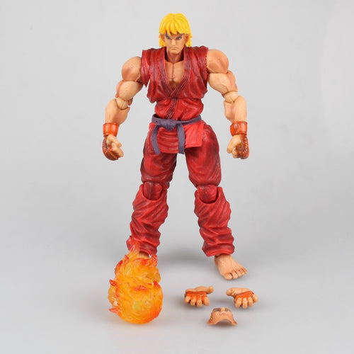 Play Arts Street Fighter Ken Figure Ver 4 PA Kai Action Figure
