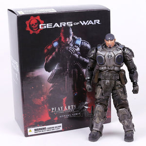 Play Arts Kai Gears of War Marcus Fenix  Action Figure