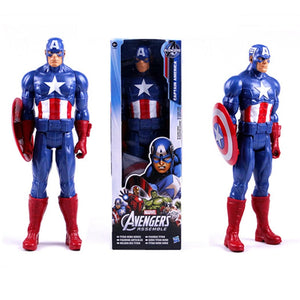 12 inch Marvel The Avengers Captain America Action Figures Collectible Kids Toys