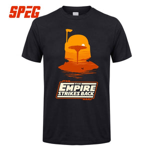 Star Wars Graphic T Shirt Boba Fett Empire Strikes Back T Shirts For Men