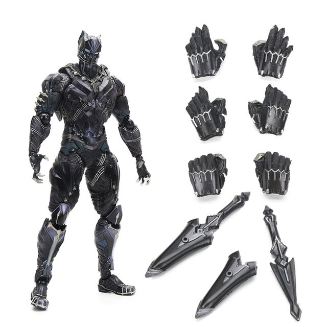 Black Panther Marvel Universe Variant Action Figures Collectible Model Toy