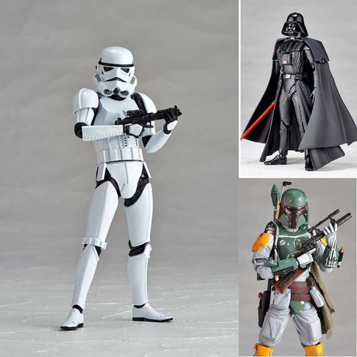 Star Wars Figures 3 Choices Darth Vader/Stormtooper/Boba Fett Action Figures Collectible Model Toys