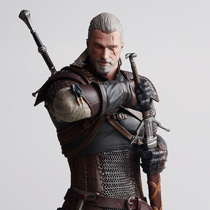 The Witcher 3: Wild Hunt Geralt Of Rivia Action Figuretoys