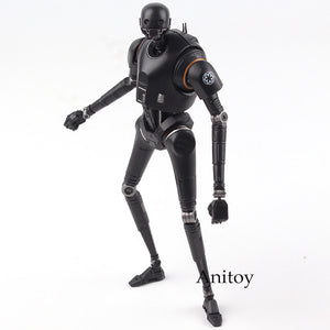 SHF SH SHFiguarts Star Wars Rogue One Toys K-2SO Action Figures Collectible Model Toy Black Series
