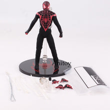 Load image into Gallery viewer, Marvel Ultimate Spiderman Action Figures Real Clothes Collectible Model Toys