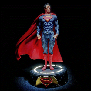 DC Justice League Superman Figure LED LIGHT SUPERMAN  Action Figures collectible toys