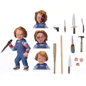 NECA Chucky Action Figures Toy with accessories