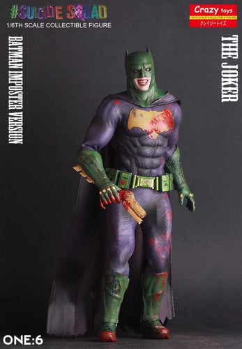 Crazy Toys - 12inch Suicide Squad The Joker Batman Figure Imposter Version Action Figures Model Toys