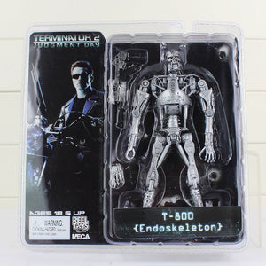NECA -  Terminator 2 T-800 Battle Across Time Action Figures Collectible Model Toys
