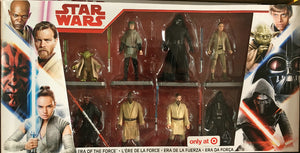 8pcs Star Wars Era of the Force 8 Pack Exclusive Collection Action figures