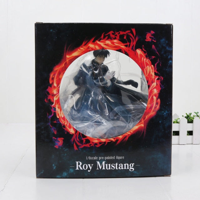 Anime Fullmetal Alchemist Figure Roy Mustang Action Figures Collectible Model Toy Figures 23cm