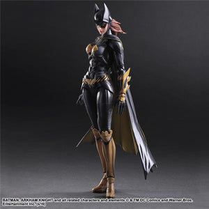 Play Arts KAI - BATGIRL Batman Arkham Knight Action Figures Colletibles Model Toys