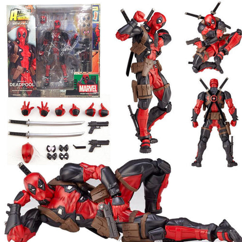Amazing Yamaguchi - Marvel Deadpool Movable Action Figures Collection Model Toys