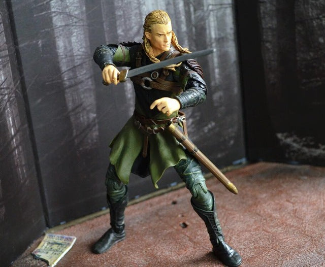 Exclusive The Lord of Rings - Legolas with Sword Action Figures