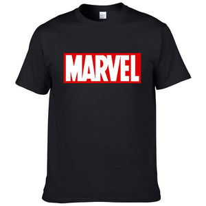 Marvel Logo T Shirts For Men