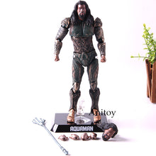 Load image into Gallery viewer, Beast Kingdom - DC Justice League Aquaman Action Figures Collectible Model Toys