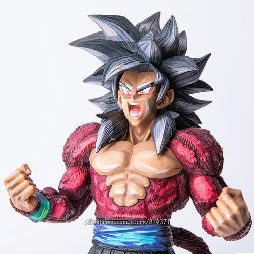 Dragon Ball ZX GT Collectio Saiyan 4 Son Goku Action Figure