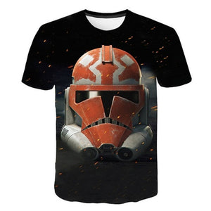 Yoda - Darth Vader - Storm Trooper Star Wars T Shirts for Men